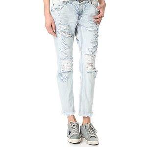 ONE X ONETEASPOON Lonely Boys Distress Jeans